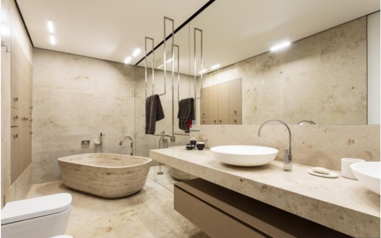 Ванны в минимализме